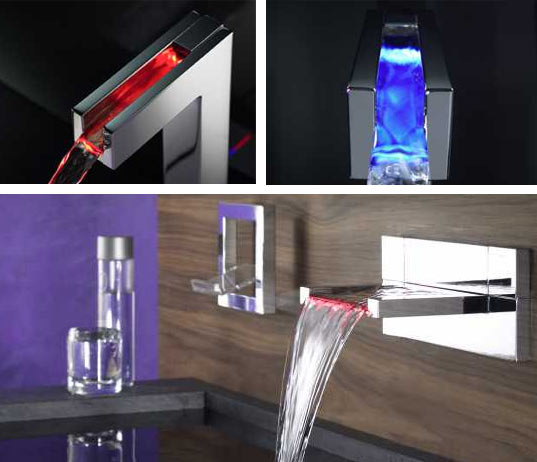 HANSA CANYON: Temperature-Sensitive LED Faucets | Inhabitat - Green ...