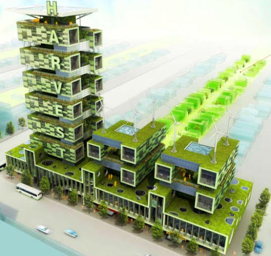 Romses Architects Scheme Harvest Green Project Vancouver Canada