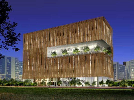 sustainable design, green design, green building, sustainable architecture, singapore heart center, broadway malyan, daylighting