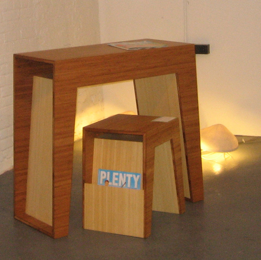 Hollow Table and Hollow End Table