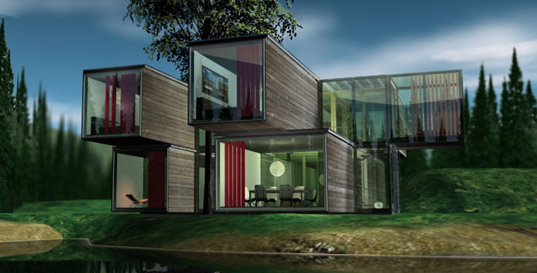 PAD HOUSE | Inhabitat - Green Design, Innovation, Architecture ...
