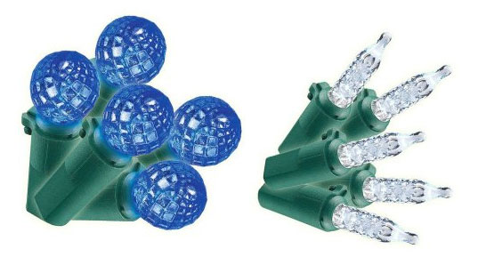 Go Green This Holiday Season with LED Christmas Lights! LED ...