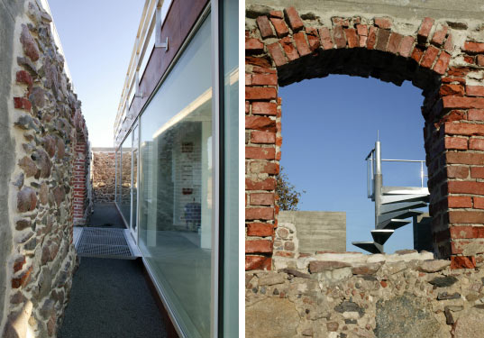 house of ruins, nrja architects, sustainable architecture, green building, green renovation project, latvian barn renovation, sustainable design, adaptive reuse