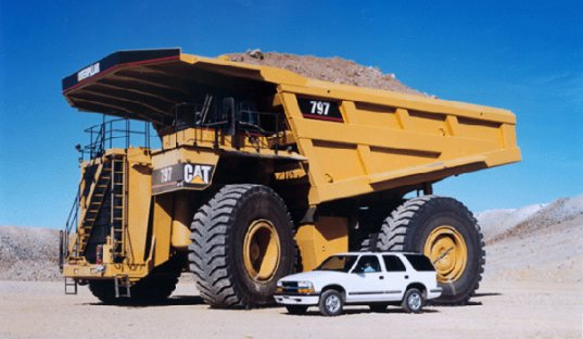 Hybrid Truck Ge Off Highway Vehicle General Electric Mine Giant Hybrids