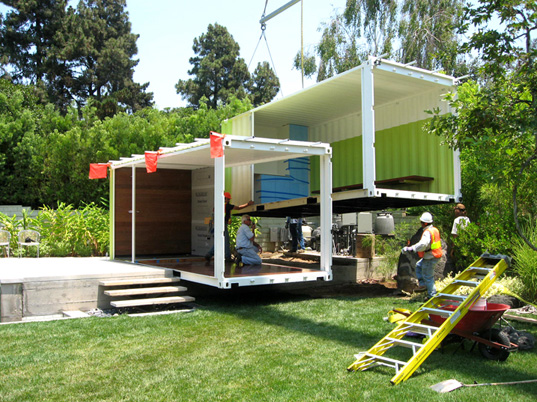 Ic Green Container Dwellings Sprout Up In California