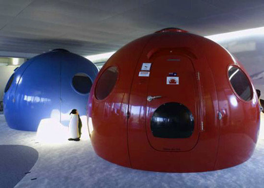 Prefabricated Igloo Satellite Cabin Withstands Extreme Weather