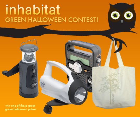 ANNOUNCING: Green Halloween Costume Contest!