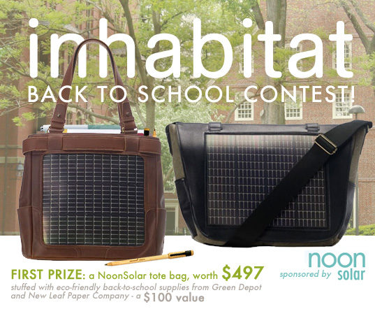 cc2a6c408473 BACK TO SCHOOL CONTEST  Win An Awesome Solar Book Bag!