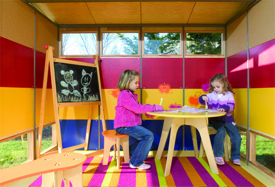 MODERN PLAY SHED