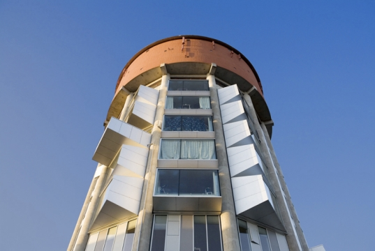 Denmark Renovates Water Tower Into Green Student Housing