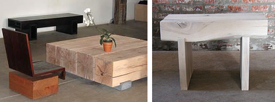 ANDRE JOYAU RECLAIMED WOOD FURNITURE