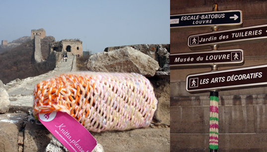 KNITTA PLEASE: Graffiti You Can Cuddle Up To