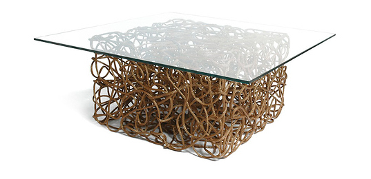 Exceptional KNOOP Rope Table From Josh Urso | Inhabitat   Green Design, Innovation,  Architecture, Green Building