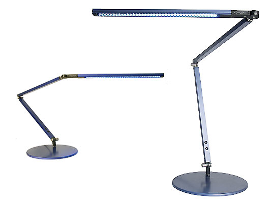 supersleek led desk lamp z bar by koncept inhabitat
