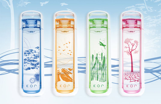 Thirst for Giving, sustainable design, green design, Kor Water Bottle, Sustainable Water Bottle, BPA Free