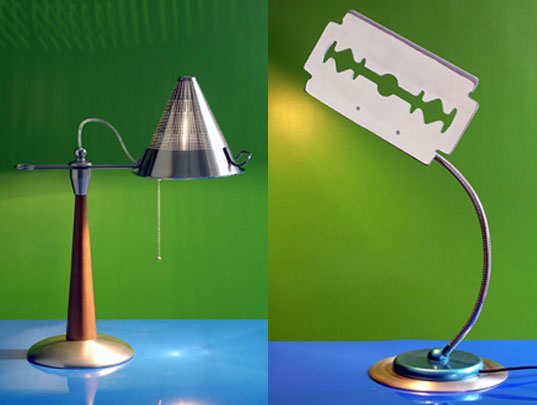 Lamponi Lamps Made From Recycled Motorcycle Parts
