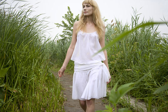 Loup Charmant, Loup Charmant Pure Collection, Loup Charmant lingerie, Loup Charmant organic cotton separates, Loup Charmant Kee Edwards, Loup Charmant sustainable style, Loup Charmant summer style, NY eco fashion designers, NY eco designers, Brooklyn eco fashion