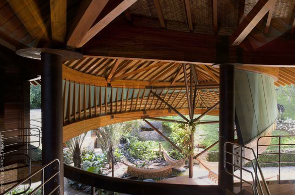 ... Beautiful Brazilian Leaf House. Architecture Amazing Pictures