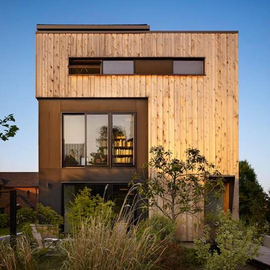 Eco Urban Home In Seattle Washington: Renovated Seattle Residence Part Of Eco-Community Living