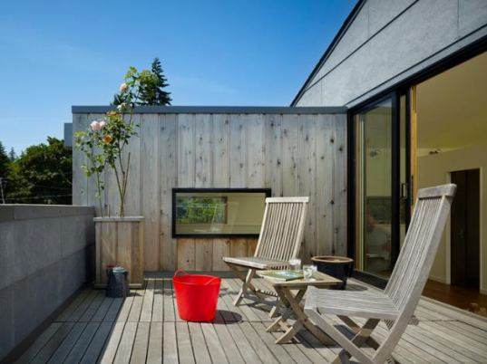 lobster boat residence, chadborne doss architects, renovation, remodel, Washington, environmentally-friendly residence, alternative housing, cooperative living, sustainable building, green residence, communal living