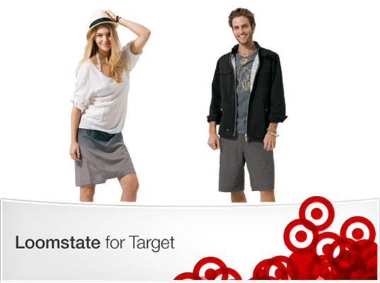 loomstate target partner, loomstate clothing spring 09, loomstate clothing summer 09, eco fashion, casual eco style, sustainable style, target clothing designers, organic cotton clothing, organic clothing