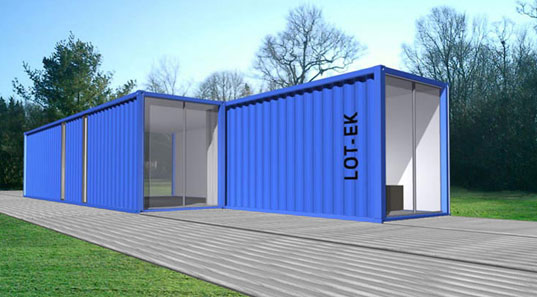 Prefab Friday Lot Ek Container Home Kit Chk