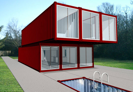 Shipping Crates Homes prefab friday: lot-ek container home kit (chk) | inhabitat - green