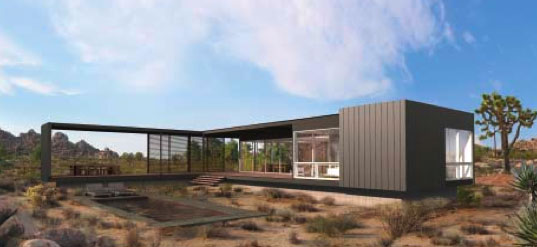NEW MARMOL RADZINER PREFAB in Joshua Tree | Inhabitat - Green ...