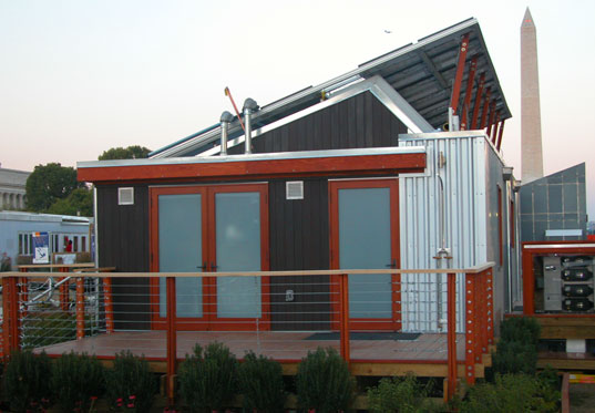Washington Dc University Of Maryland Solar Decathlon Home Architecture Design Compeion Prefab Housing
