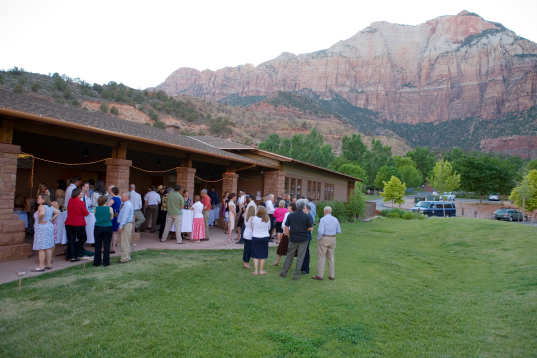 Green Wedding Location Zion National Park