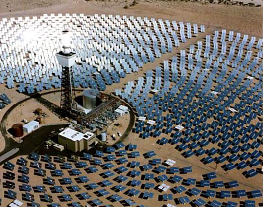 Solar-Thermal Plant by BrightSource Energy
