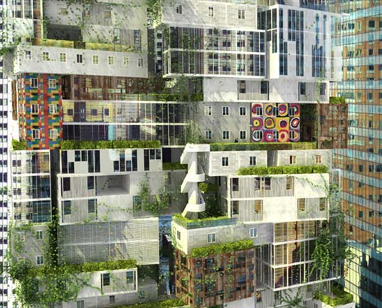 moma, jean nouvel, axis mundi, museum of modern art, new york city, modern architecture, new proposal for moma design, 53 w 53, vertical neighborhood