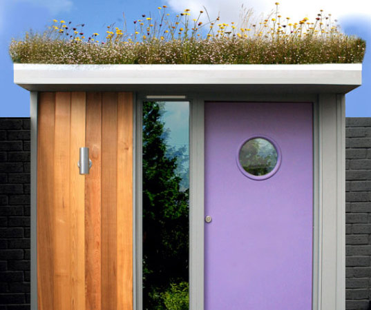 sustainable design, green design, architecture, building, prefab architecture, garden sheds, moonroom