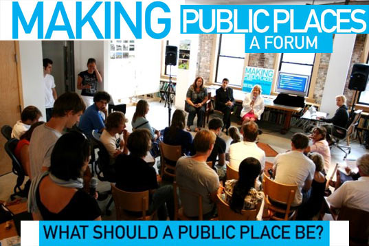 Making Public Places: Forum on Placemaking in Cities