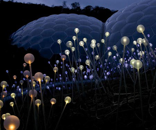 Artist Bruce Munro Creates Brilliant Fiber Optic Fields Of