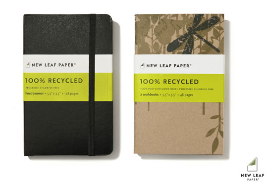 sustainable design, green design, eco-friendly paper, new leaf paper farm fiber collection, recycled materials, products, paper products