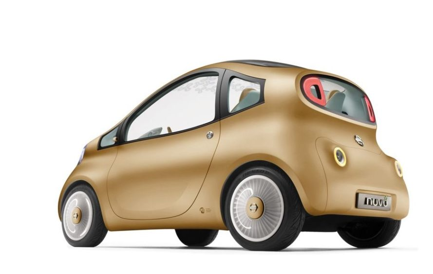 Nissan Nuvu Electric Vehicle Smart Car Plug In Trials