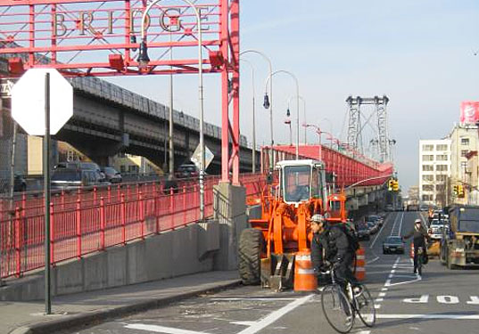 NYC Allows Bicycle Parking in Buildings While Cutting Bike Lanes