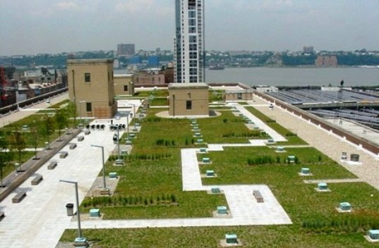 US Postal Service Delivers Plan For Huge Green Roof In NYC | Inhabitat   Green  Design, Innovation, Architecture, Green Building