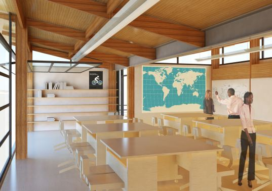 Modern Classroom Building ~ Winners of the open architecture challenge