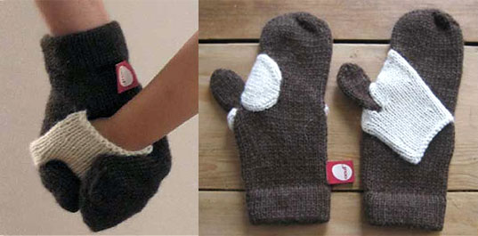 Oeuf sustainable knitwear, essential knits, hug me sweater, squeeze me mittens