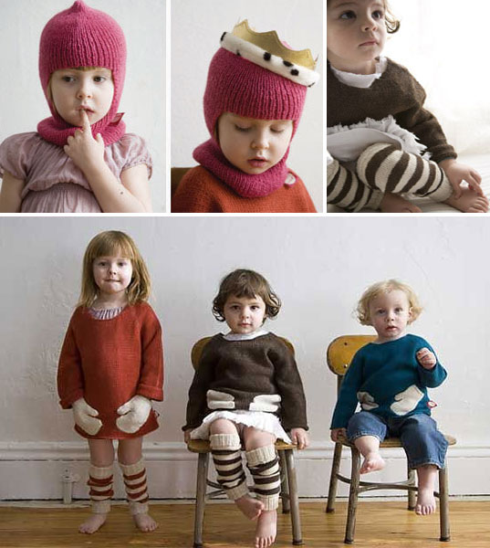 Ouef sustainable knitware, essential knits, hug me sweater, squeeze me mittens