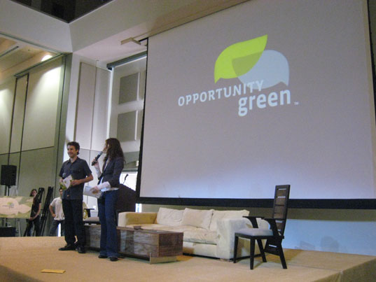 Opportunity Green, Sustainable Innovation, Patagonia, Nike, EcoFabulous, green conference, boise, annabelle opportunity green
