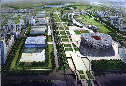 Beijing S Olympic Green