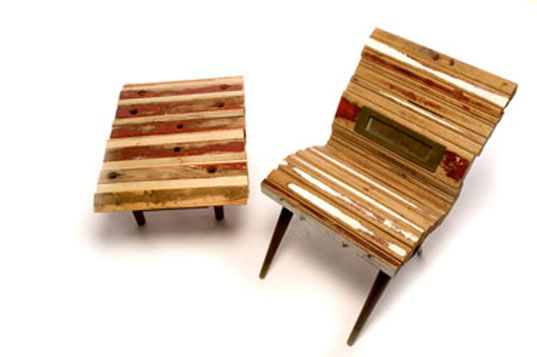 Reused Furniture once a door recycled door chairclaire danthois claire danthois