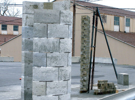 Plastic Concrete: Building Bricks Made From Landfill Waste