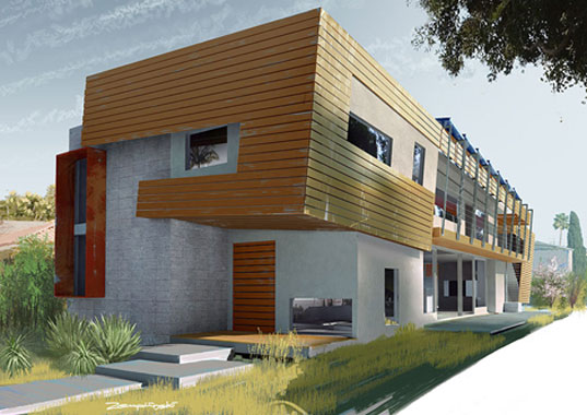 Project7ten house gets leed platinum inhabitat green for Platinum home designs llanelli