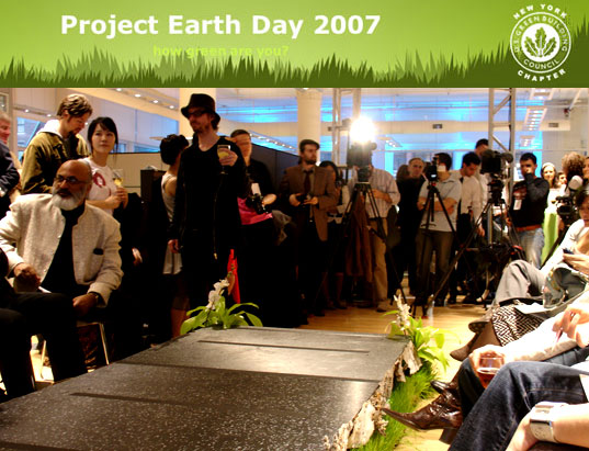 project earth day, eco fashion, eco fashion design, sustainable style, earth day 2007, organic fashion, egbny teknion o2nyc green drinks