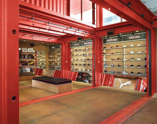 PREFAB FRIDAY: 'Puma City' Shipping Container Store
