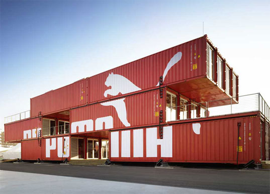 Prefab friday puma city shipping container store inhabitat green design innovation - Building a container home costs ...
